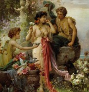 Artwork by artist Hans Zatzka