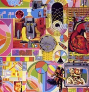 Artwork by artist Eduardo Paolozzi