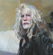 Artwork by artist Robert Lenkiewicz
