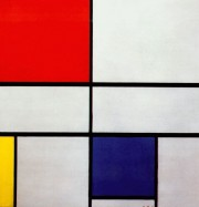 Artwork by artist Piet Mondrian