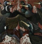 Artwork by artist Keith Shackleton