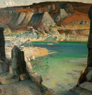 Artwork by artist Samuel John Lamorna Birch