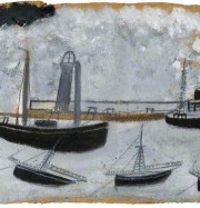 Artwork by artist Alfred Wallis