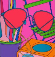 Artwork by artist Michael  Craig-Martin