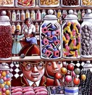 Artwork by artist PJ  Crook