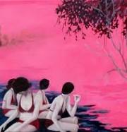 Artwork by artist Freya Douglas-Morris
