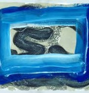 Artwork by artist Howard Hodgkin