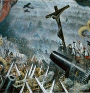 Artwork by artist Christopher Nevinson