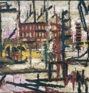 Artwork by artist Frank Auerbach