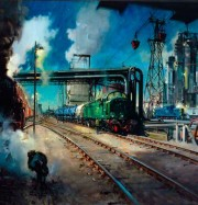 Artwork by artist Terence Cuneo