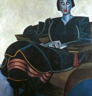 Artwork by artist Wyndham Lewis