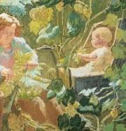 Artwork by artist Thérèse Lessore