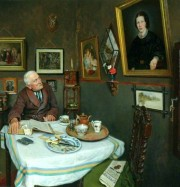Artwork by artist Charles  Spencelayh