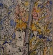 Artwork by artist Lydia Corbett