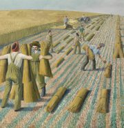 Artwork by artist Evelyn Dunbar