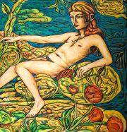 Artwork by artist Adrian Wiszniewski