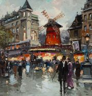 Artwork by artist Antoine Blanchard