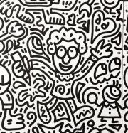 Artwork by artist Mr Doodle